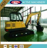 Heiße gleisketten-Löffelbagger-Exkavatoren des Verkaufs-4.5ton Multifunktionshochleistungs