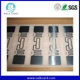 ISO18000-6c UHF RFIDの付着力のステッカーかカード