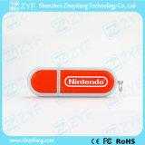 Nice Design Plastic Ellipse USB Pen Drive (ZYF1270)