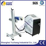 Máquina ULTRAVIOLETA de la marca del laser del casquillo del PE