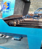 Tubo de acero de alta eficacia de la pared interior/exterior de la máquina de granallado Shot