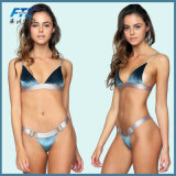 2018 Femmes Sexy Bikini en velours bleu