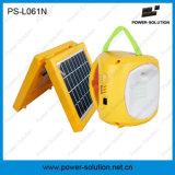 4500mAh portátil 6V linterna solar y lámpara con cargador de teléfono para acampar o iluminación de emergencia (PS-L061)