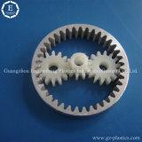 Engrenagens de plástico de alta resistência, engrenagens de roda de plástico pequenas, molde de engrenagem