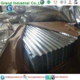 Feuille simple de revêtement trapézoïdal pour le toit de revêtement