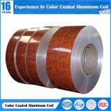 rollen van het Aluminium van de Textuur van de Korrel van de Dikte van 0.023.0mm de Houten Marmeren met het Schilderen PE/PVDF