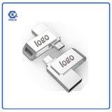소형 금속 OTG 32GB USB 섬광 드라이브 부피 USB Sitck 기억 장치