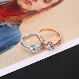 De elegante Klassieke Ring van de Juwelen van het Huwelijk van de Overeenkomst van de Stijl