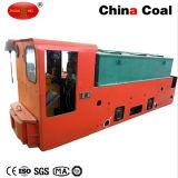 Locomotiva a pile carboniera stretta del traforo del calibro 12t di Cay12/7gp nel sottosuolo