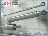 ソディックの射出成形機スクリューバレル