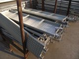 Plancia del sistema di Ringlock/scheda/passerella d'acciaio della camminata con l'amo saldato