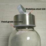 Dtm personalizou o frasco de vidro portátil para beber