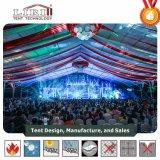 tenda impermeabile della portata della radura della festa nuziale del PVC di bianco di 20X60m da vendere