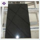 Lastre nere Polished del granito dello Shanxi per il controsoffitto/camino/mattonelle