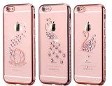 La galvanoplastie Luster TPU Transparent Étui pour iPhone6 Plus