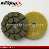3 인치 D80mm 화강암과 대리석 바닥 습식 연마 패드
