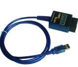 Mini USB ELM327 OBD2 avec commutateur ligne directement en usine à bon marché d'alimentation