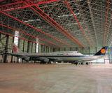 Het Pakhuis van het Dak van het Metaal van de Hangaar van de Vliegtuigen van de Bouw van het staal