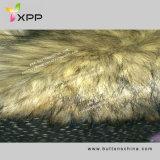 毛皮のコートのスエードの結合のSherpaの擬似毛皮