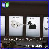 Armature en aluminium de tissu d'Advertismenttextile de boîte légère de Frameless LED annonçant l'affichage