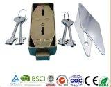 Fechamento seguro, fechamento seguro da caixa, fechamento seguro com o fechamento Al-205L da chave mestra