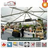 De transparante Duidelijke Tijdelijke Structuur van de Tent van de Markttent van de Spanwijdte voor de Gebeurtenis van het Huwelijk