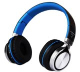 Studio auricular inalámbrico Bluetooth para auriculares estéreo Bluetooth portátil plegable con ranura para tarjeta de memoria