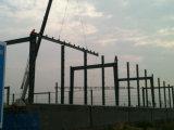 プレハブの鉄骨構造のロジスティクスの倉庫