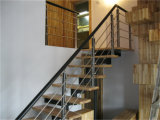 Просто поручень лестницы нержавеющей стали PVC 304 типа