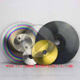 Lâmina de serra circular HSS com estanho, Revestimento Tialn Vapo,