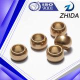Maquinagem em forma de esfera bronzeada Usinagem de bucha sinterizada