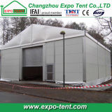 Временно Industrial Storage Tent с Steel Sheet Wall