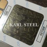 Edelstahl-Farbe Ket008 der Qualitäts-410 ätzte Blatt