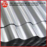 Оцинкованной стали гофрированный металлический лист панели крыши в Китае