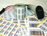 The Small Printed 각자 Adhesive Price Tags를 위한 주문 Label
