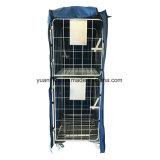 Gabbia di rotolamento di memoria e del trasporto del coperchio del PE/carrello del rullo/contenitore rullo del metallo