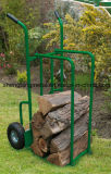 Extérieur avec la bonne qualité pour le chariot à main de stockage de porteur de bois de chauffage