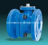 Шариковый клапан чугуна DIN с пусковой площадкой установки ISO5211