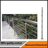 De Baluster van het Systeem van het Traliewerk van het roestvrij staal voor Project