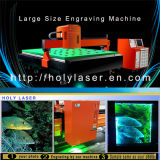 De grote Machine van de Gravure van de Laser van het Glas van de Grootte van het Werk