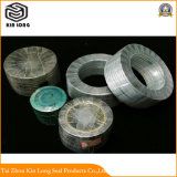 Guarnizione della ferita di spirale della grafite del metallo; Guarnizioni di rinforzo grafite flessibile calda di vendita con la migliore qualità
