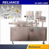 높 효과적인 플라스틱 앰풀 액체 병 충전물 및 밀봉 기계