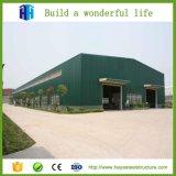 Vertiente temporal prefabricada del marco del metal del edificio de la fábrica de la estructura de acero