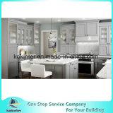 Armadio da cucina bianco standard di legno solido del portello dell'agitatore dell'America