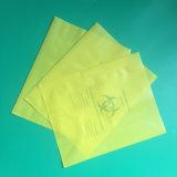 Material HDPE LDPE/ecológica de la bolsa de Biohazard