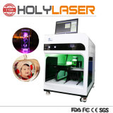 Ökonomischer innerer Glasstich KristallAdward Trophäe-Maschine Laser-3D