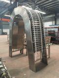 Type plat machine complètement automatique d'acier inoxydable de fabrication de biscuits de disque
