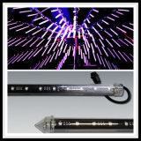 단계를 위한 최신 판매 100cm DMX 3D 화소 관 지팡이