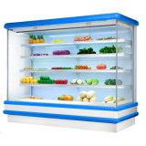 Viande et produits laitiers Multideck Ouvrir refroidisseur avec compresseur à distance
