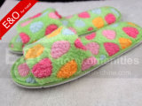 Soft Plush EVA Sole Hotel Indoor Lady Women Chaussons